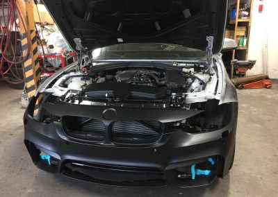 2014 BMW 328d front-end damage repair-gallery-11