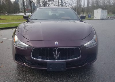 2017 Maserati Ghibli front-end damage repair project gallery-20