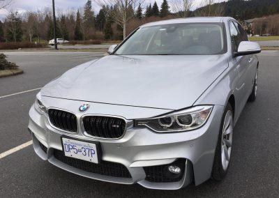 2014 BMW 328d front-end damage repair