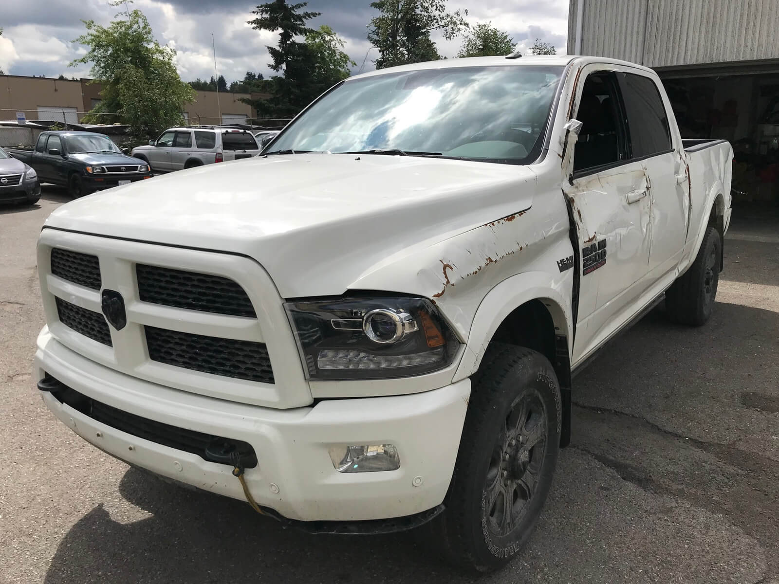 2016 Dodge Ram 2500 Side Damage Repair Project