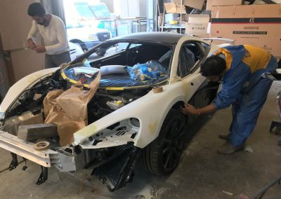 2017 McLaren 570S Coupe Damage Repair Gallery-02 by RBS Collision Repairs