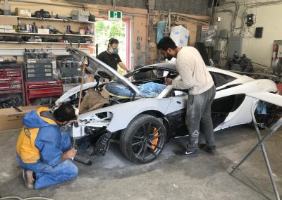 2017 McLaren 570S Coupe Damage Repair Gallery-04 by RBS Collision Repairs